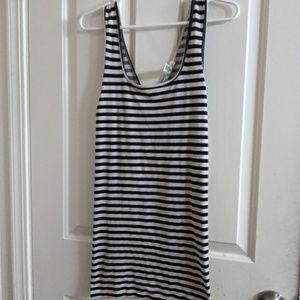 2/$10 Striped mini Bodycon dress *Final markdown*